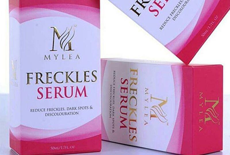 mylea freckles serum blog